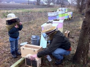 Every beginning beekeeper needs a local mentor!