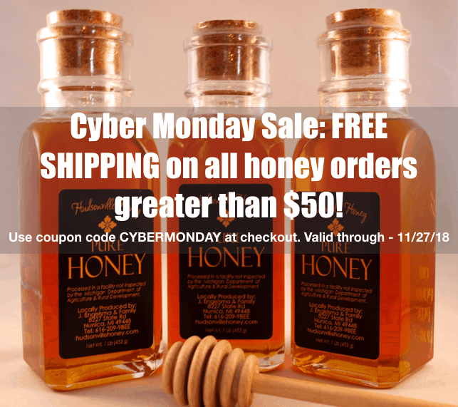 Free shipping on orders > $50. Use CYBERMONDA coupon code at checkout.
