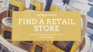 buy local honey at a nearby store