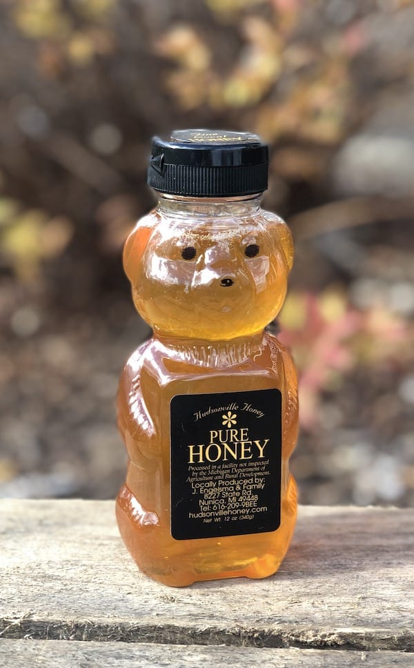 12 oz honey bear