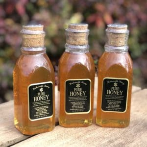3 pack of 8oz muth jars of honey